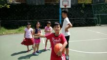2016 Summer Vacation Activities - Week 3 Our own basketball team